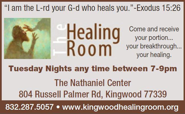 Healing Room Flyer